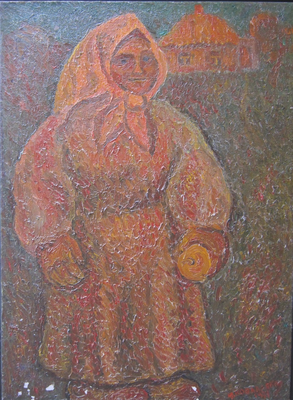 Коваленко Ю. Мать 99х73 см. холст, масло 1971г.