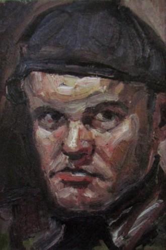 Ю. Коваленко, автопортрет, 344x518