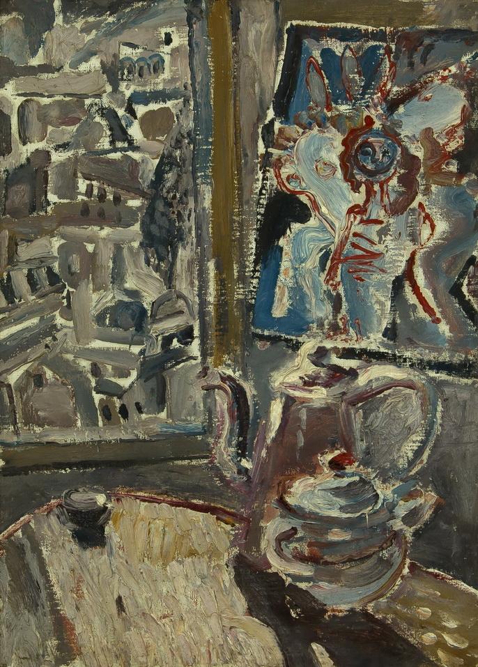 """""""Комната"""", натюрморт, работа из частной коллекции Сергея Костина (галерея «Ника»)"""