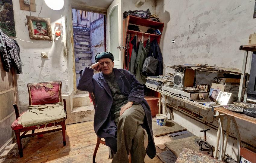 В. Павлов, художник. Фото предоставлено виртуальным архивом http://thereart.com/