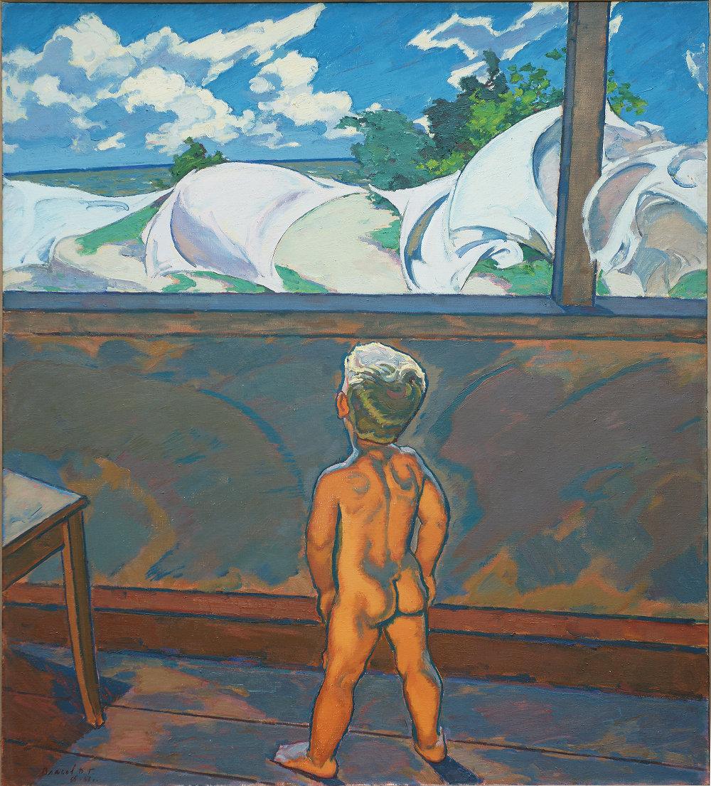 """Владимир Власов """"Ветер"""", 1974 г."""