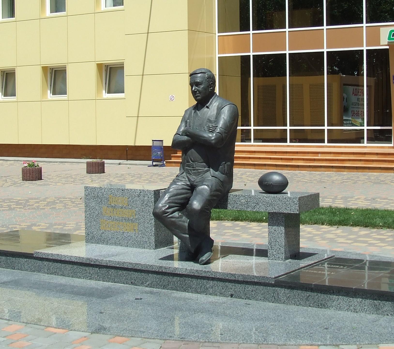 Николай Худолий, бронза, 2013г., Одесса.