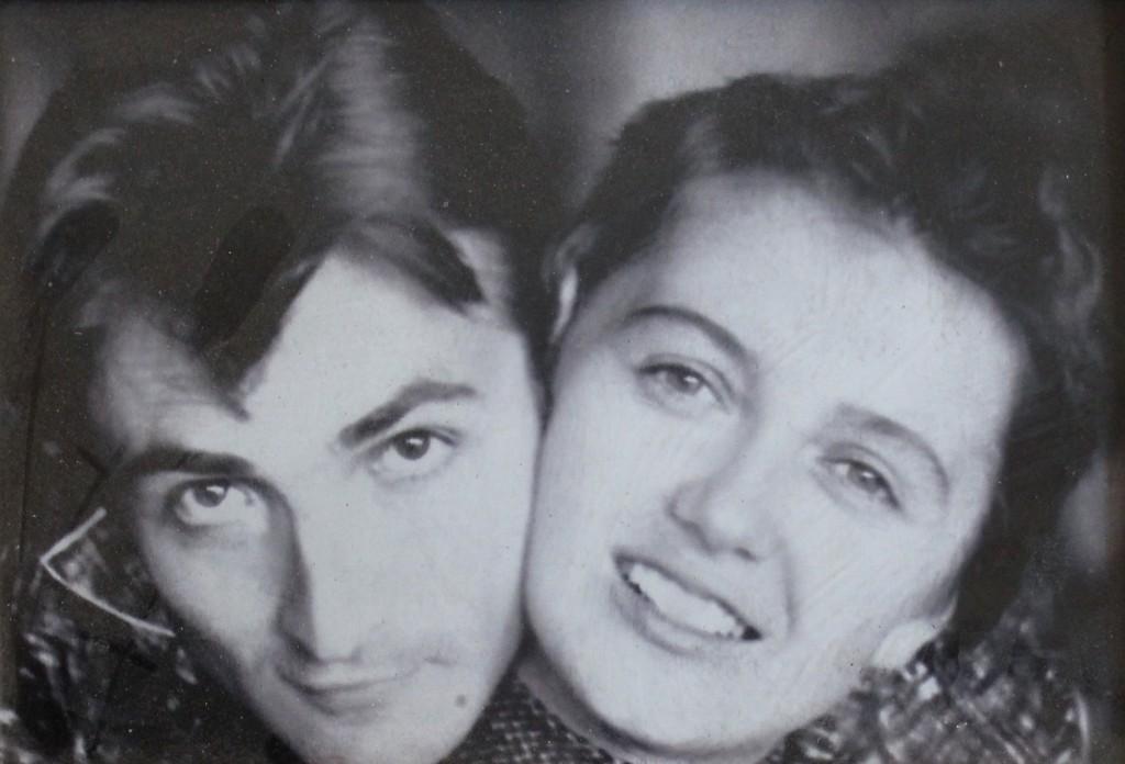 Владимир Кобылинский вместе с супругой Валентиной Трощенко
