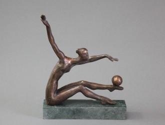 А. Коваль, «Укрощение», бронза, 1977 г.