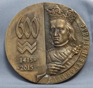 А. Коваль, «Медаль к 600-летию Одессы», бронза, 2015 г.