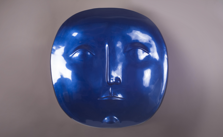 Серафим Чаркин, «Ультрамариновое солнце» , стеклопластик, 2013 год.