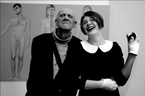 Ева Ятт и Виктор Павлов