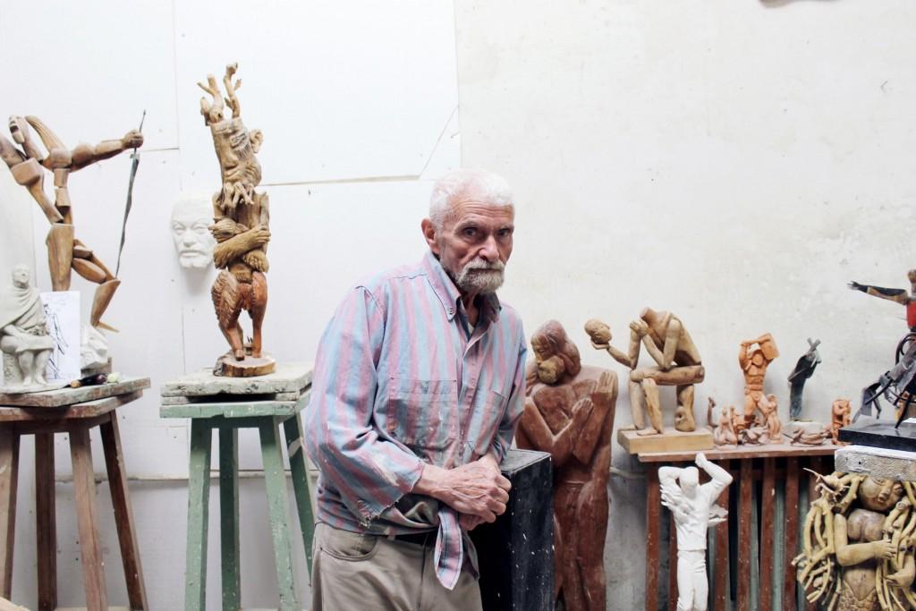 Александр Князик, скульптор.