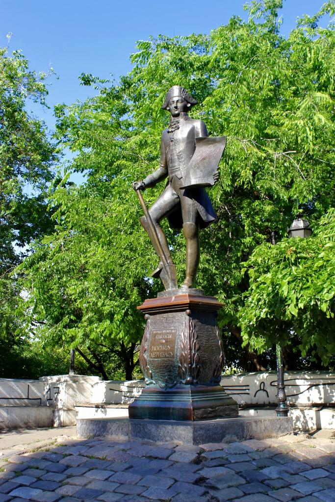 А. Князик, «Памятник Иосифу Дерибасу», бронза, 1994 г.