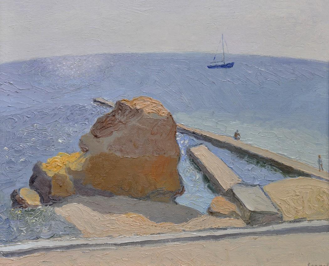 Юрий Егоров. «Морской пейзаж». 1990-е. Фото — аукционный дом «Золотое сечение»