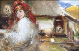 Катерина Билетина. «Мольфарка», 2016 г.