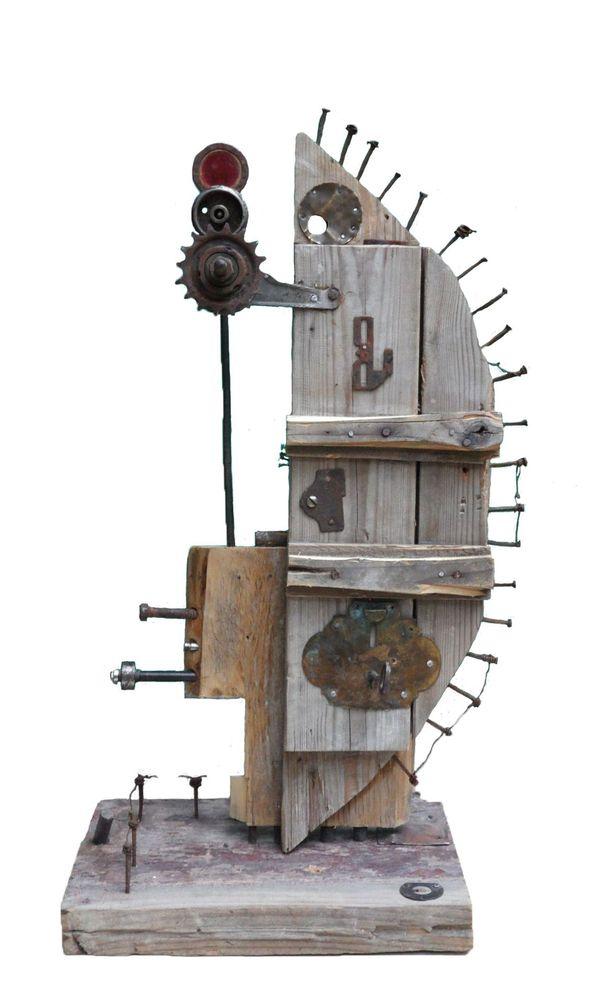 Преобразователь сновидений 65x20x30 см, 2015, смещанная, дерево, металл, другое