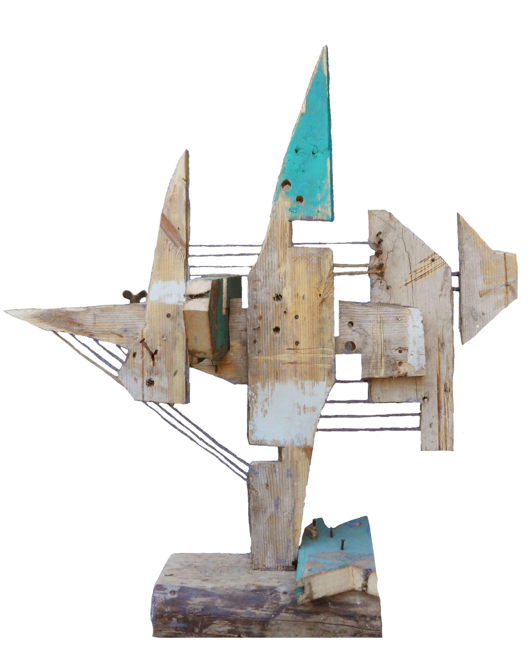 Тетра, 70х65х40 см, 2015, дерево