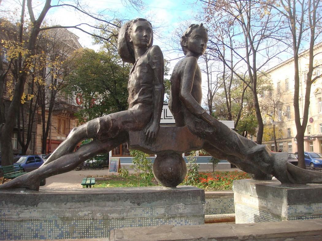 Микола Степанов, «Петя и Гаврик». 1988