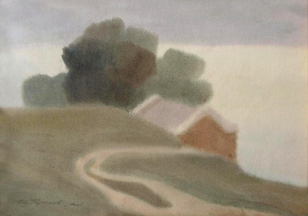 Игорь Терехов, «Пейзаж с видом на море». 2004 год