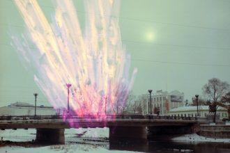 Минин Р. «Харьковский пейзаж» из серии «Сны про войну». 2011 г.